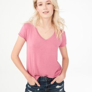 Aero | Seriously Soft Perfect V Tee, S